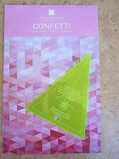 Small Simple Wedge & Confetti Pattern for fat Quarters Missouri Star Quilt Co.