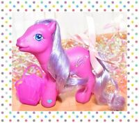 ❤️My Little Pony G3 Heather Winds Perfectly Pony 2005 Pink Purple Floral❤️