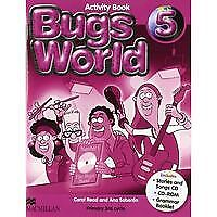 (10).BUGS WORLD 5º.PRIM.(BUSY BOOK-ACTIVITY). ENVÍO URGENTE (ESPAÑA)