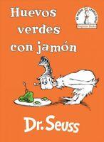 Huevos verdes con jamón / Green Eggs and Ham, Hardcover by Seuss, Dr.; Marcus...
