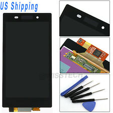 Black F/Sony Xperia Z1 L39h C6902 C6903 C6906 C6943 LCD Touch Digitizer Screen