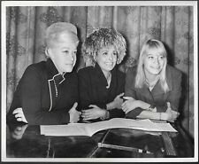 ~ Lena Horne Mary Travers of Peter Paul and Mary Original 1960s Press Photo