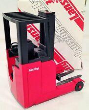 BLACK CABIN Lansing ( Linde ) forklift fork lift truck MINT IN BOX VERY RARE