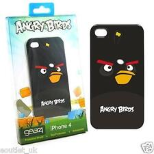 Angry birds housse iPhone 4/4S Gear 4 officiel-oiseau noir pack de 10 neuf