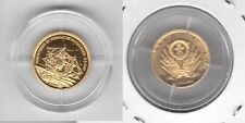 Northern Mariana Islands – Gold Proof 5$ Coin 2004 Year X#2 Ship Magellan