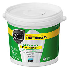 """Sani Professional Multi-Surface Cleaning Wipes, 10"""" x 11.5"""", 100 Wipes/Bucket, 2"""