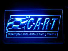 J927B Cart Championship Auto Racing Teams For Garage Display Decor Light Sign