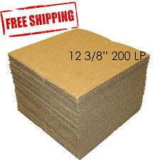 "200 LP 12 3/8"" Record Mailer Insert Pads Scrapbook Album Boxes Catalog Packing"
