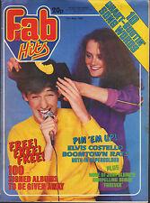 Fab 208 Magazine 10 May 1980    Elvis Costello    Boomtown Rats    Leif Garrett