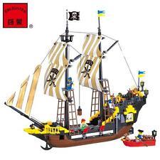 ENLIGHTEN Pirates of the Caribbean The Adventure Boat Blocks Minifigures Toys