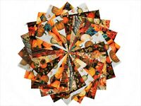 40 5 Inch Autumn Harvest Quilting Fabric Squares/Charm Pack By Benartex