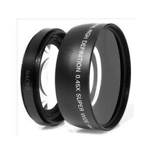Durable 0.45X 58mm Auto Focus Wide Angle Lens For Canon 550D 400D 450D 500D Use