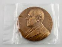 Woodrow Wilson Presidential Bronze Medal US Mint Department of the Treasury