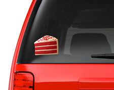 Red Velvet Cake Design - Full Color Vinyl Decal for Car, Macbook, ect.