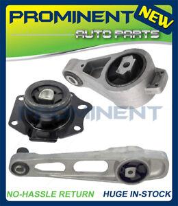 Motor Mounts3PCS Replacement for 00-05 Chrysler PT Cruiser Dodge Neon 2.0L AT