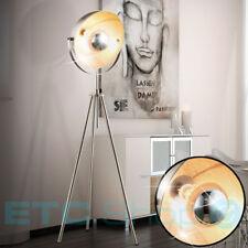 Design Steh Leuchte Wohn Zimmer Lampe Höhe verstellbar Spot Strahler schwenkbar