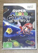 Super Mario Galaxy Nintendo Wii PAL Australian, Manual Included