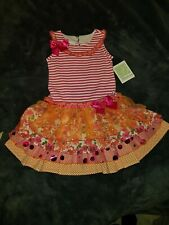 Girls Summer Dress by Bonnie Jean age 6 years NEW