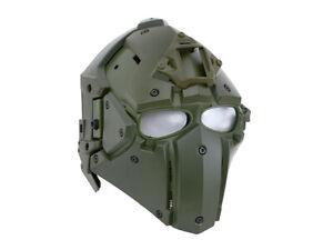 EMERSONGEAR Future Warrior Mask 3in1 Paintball Airsoft Anti Fog mit Ventilatoren