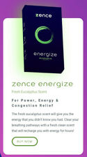 ZENCE (NEW) No Touch Wearable Technology Infused With Essential Oil