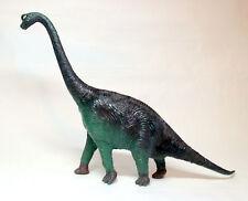 """Vintage1980s Large Brachiosaurus Dinosaur Figure 18"""" Long Hard Plastic 11"""" Tall"""
