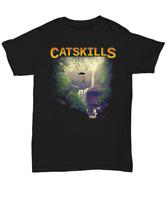 Catskills NY - Unisex Crew Neck T-Shirt - Black - Unisex Tee