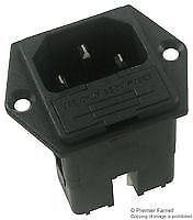 IEC INLET - TWIN FUSE - Power Entry - Connectors - CN01745