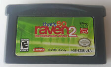 That's So Raven 2: Supernatural Style (Nintendo Game Boy Advance, 2005) GBA