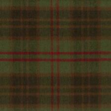 Marcus Fabric Christmas Primo Cotton Flannel Plaid Hunter Crimson