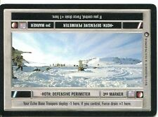 Star Wars CCG Hoth Black Border Hoth : Defensive Perimeter [Light Side]