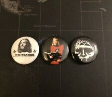 "Church Of The Final Judgemt 1"" Button Set Integrity The Process"