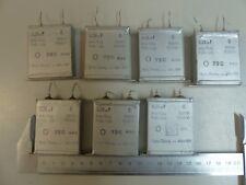 1x 0,25 uf - 500V NOS Vintage Kondensator Capacitor KLANGFILM Oil Paper Siemens#