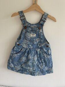 Osh Kosh Dungarees/Pinafore Dress 24 Months Girl