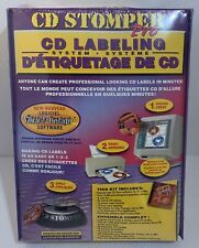 CD Stomper Pro CD Labeling System Kit For PC & Mac NEW Sealed