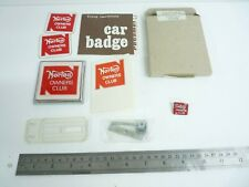 More details for 1975 norton owners club members car badge stickers enamel pin nos new old stock