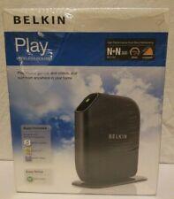 Belkin Play Wireless Router N+ N300 Dual Band Gaming Music F7D4302 802.11N