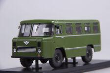 Scale model 1/43 Army bus As-38, khaki
