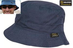Mens Sun Hat Cap Bucket Outdoor Travel Festival Fishing Cap White Navy Blue S-XL