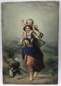 Bildplatte, KPM, um 1880,