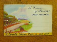 A Souvenir of Beautiful Lakes Entrance - c.1940s, 12 colour photos