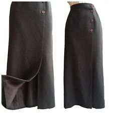 COUNTRY CASUALS Skirt Maxi Long Hobble Landgirl Governess Victorian 28W UK 10