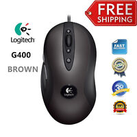 Logitech G400 Optical Gaming Mouse with High-Precision Tracking Engine CableLine