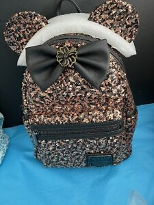Loungefly Disney Belle of the Ball Bronze Backpack - NWT
