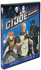 New: G.I. JOE RENEGADES - Season 1 Volume 2 DVD, 2 Disc, 13 Episodes & Bonus Fea