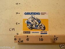 STICKER,DECAL GRUNDIG RACING TEAM MOTO GP,DAF TRUCKS,SHELL QUADRO C