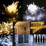 Warm White 100LED 10m Fairy Curtain String Lights Christmas Xmas Party HRAS