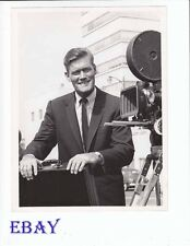Chuck Connors candid on set Arrest And Trial VINTAGE Photo