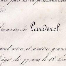 Marie-Pauline Morand François De Larderel Livourne 1868