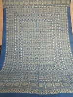 ECO FRIENDLY VEGETABLE DYED HAND BLOCK PRINT COTTON BED SHEET FROM INDIA