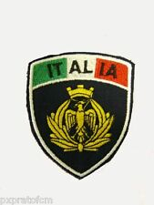 Patch Fregio Aeronautica Militare Bandiera Italia Blu per Mimetica Vegetata Scud